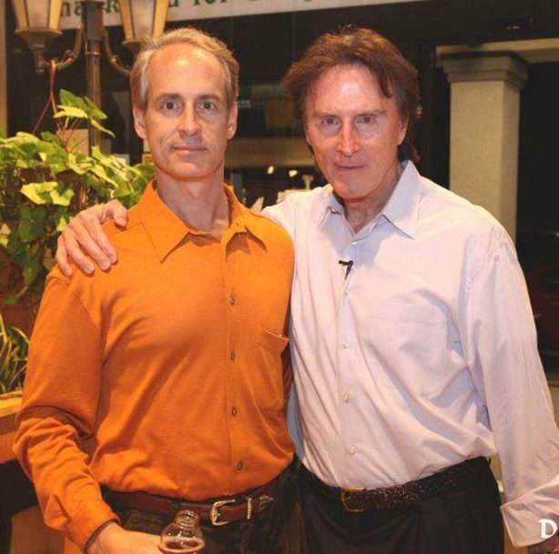 Gary Null with NYC hypnotist and nutritionist Jeffrey Rose