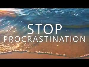 stop procrastinating hypnosis nyc
