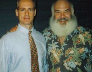 Dr. Andrew Weil with NYC hypnotist and nutritioisth