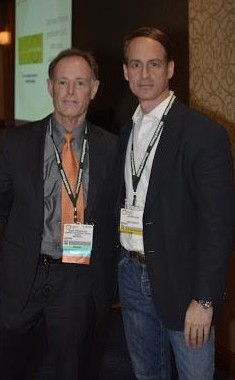 Dr. David Perlmutter with NY hypnotist Jeffrey Rose