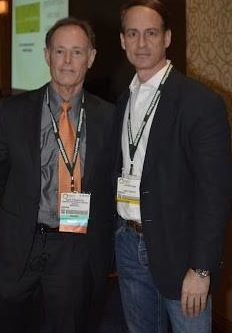 Dr. David Perlmutter with NYC hypnotist Jeffrey Rose