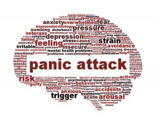 Panic attack icon design