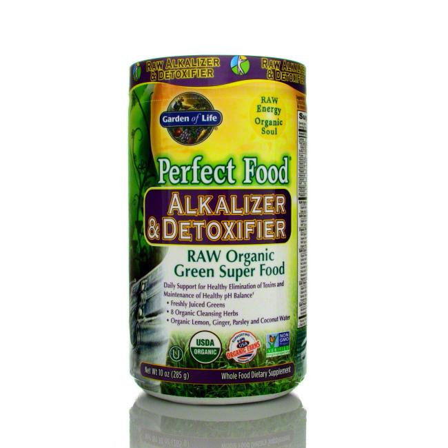 Garden of life perfect food alkalizer detoxifier 285g - Garden of life raw meal weight loss plan ...