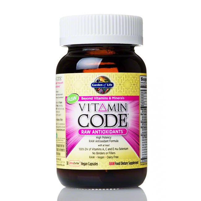Garden of life raw antioxidants 30 count ahcenter - Garden of life raw meal weight loss plan ...