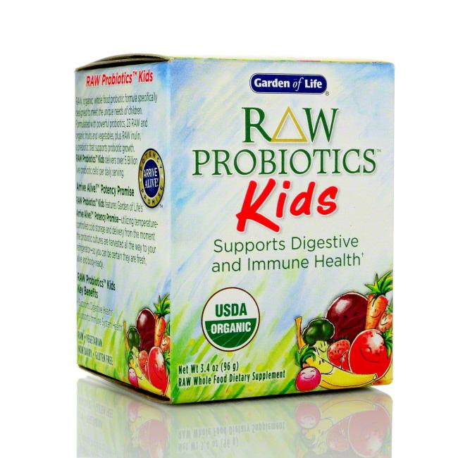 Garden of life raw probiotics kids 3 4 oz 96g ahcenter - Garden of life children s probiotics ...